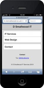 Mobile Web Site Design